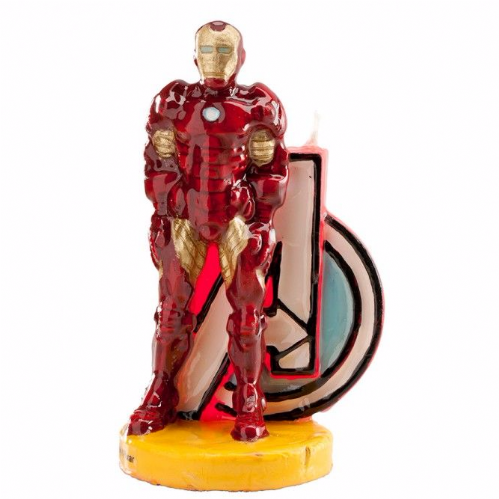 LICENSED CANDLES: IRON MAN